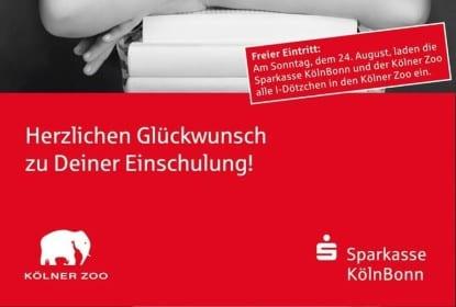Kölner Zoo gratis