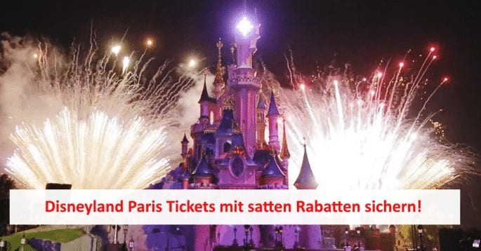 Disneyland Paris Ticket Angebot